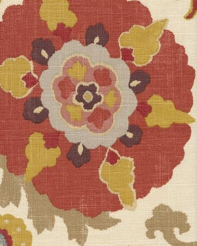 Braemore SILCUR8 Silsila Curry 55% Linen And 45% Rayon Fabric, 54 in. Width, 8 yds long