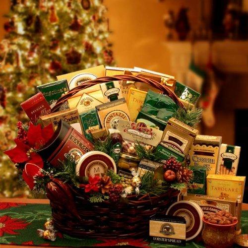 A Family Gathering Gourmet Holiday Gift Basket – Medium