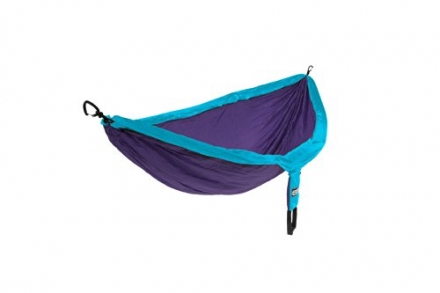 Eagles Nest Outfitters DoubleNest Hammock, Purple/Teal