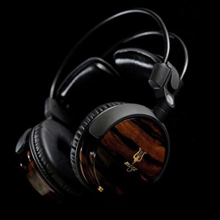 Meze 88 Classics Audiophile Ebony Wood Headphones – High Gloss Finish