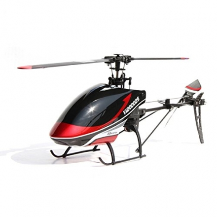 Walkera New V120D02S 6 Channel 2.4GHz 6-Axis Gyro 3D RC Helicopter with DEVO7 Transmitter RTF Red