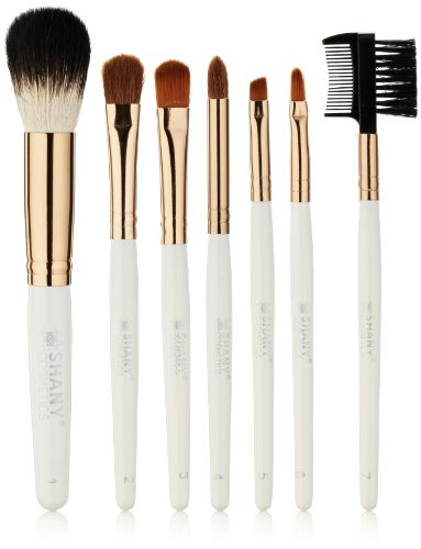 SHANY Cosmetics Urban Gal Collection Brush Kit (7 Piece Pony Bristles Mini Travel Brushes), 13 Ounce