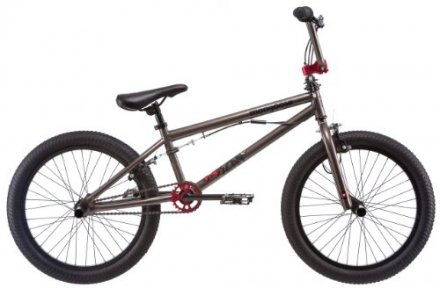 Mongoose 20-Inch Boy's Scan R20 Freestyle Bicycle, Titanium