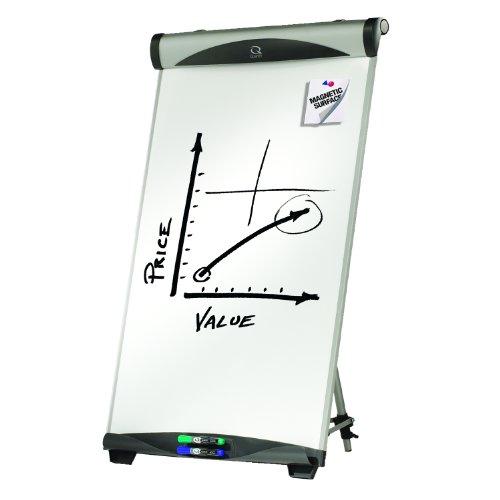 Quartet Euro Magnetic Presentation Easel, Whiteboard/Flipchart, 27-Inch x 39-Inch (EU500E)