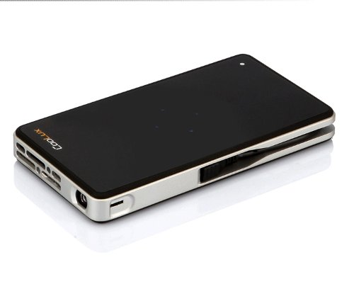 Coolux@Q6 LED Pico Mini Pocket Projector DLP Support 1080p Hdmi DLNA Airplay Miracast wireless mirro
