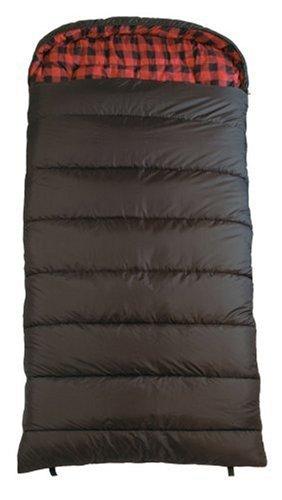 TETON Sports Celsius XXL -18 Degree C / 0 Degree F Flannel Lined Sleeping Bag (90″x 39″)
