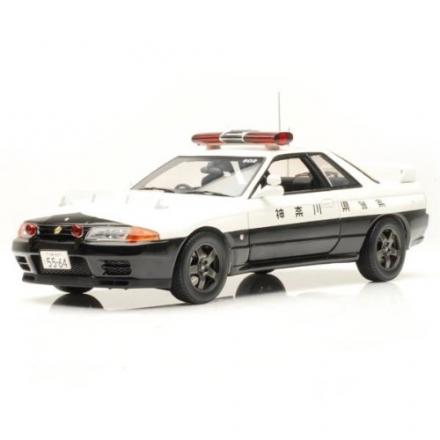 NISSAN SKYLINE GT-R R32 KANAGAWA POLICE CAR #502 1/18 Scale Diecast Model