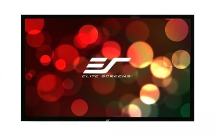 Elite Screens R150H1 ezFrame Fixed Projection Screen (150″ Diag. 16:9 73.6″Hx130.7″W)