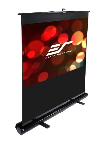 Elite Screens F150NWH ezCinema Series Portable Projection Screen (150″ Diag. 16:9 73.6″Hx130.7″W)