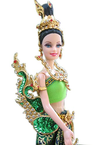 Thai Traditional Handmade Costume Barbie Kinnaree