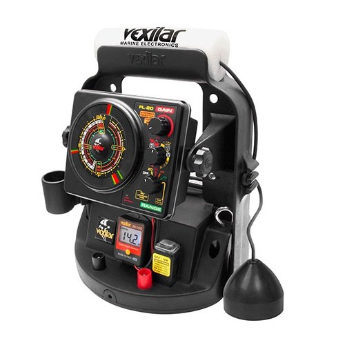 Vexilar FL-20 Ice Ultra Pack Locator with 12-Degree Ice Ducer, Multi