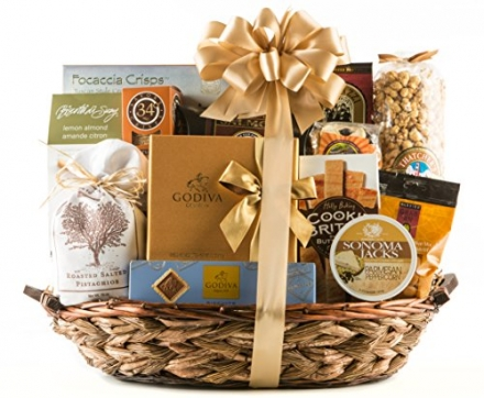 Wine.com VIP Gourmet Gift Basket