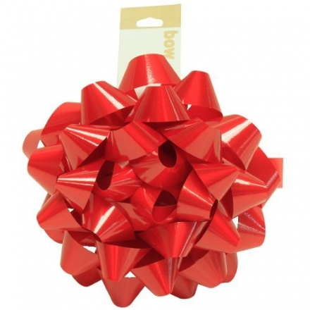 JAM Paper® – Medium Size Red Gift Bows – 5.5 Inch Diameter – 100 bows per bag