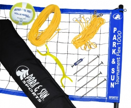 Park & Sun Tournament Flex 1000 Volleyball Set