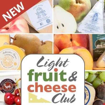 Golden State Fruit Monthly Fruit and Cheese Club (Light Version) – 6 Month Club