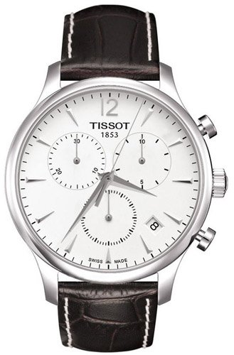 Tissot Men's T063.617.16.037.00 Silver Dial Tradition Watch