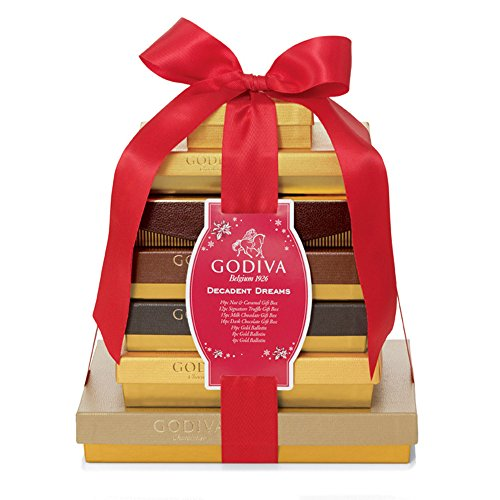 GODIVA Chocolatier Decadent Dreams Gift Tower – Holiday