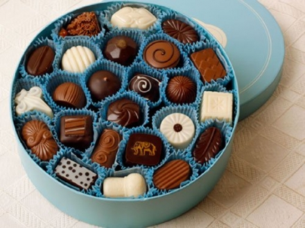 Woodhouse Chocolate – 48 pc. Traditional Assortment – Blue Box