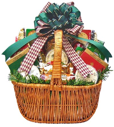 Meat, Cheese & Nuts Gourmet Food Christmas Holiday Gift Basket – LARGE