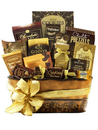 A World of Chocolates Gift Basket