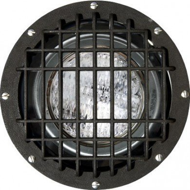 1 Light In-Ground Well Light with Grill Volts: Multi-Tap, Bulb Type: 175W MH/MED