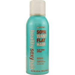 SEXY HAIR by Sexy Hair Concepts HEALTHY SEXY SOYA WANT FLAT IRON SPRAY 4.5 OZ ( Package Of 5 )