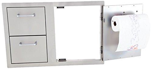 Lion Premium Grills L3320 Door Drawer Combo with Towel Rack, 33 by 22-Inch