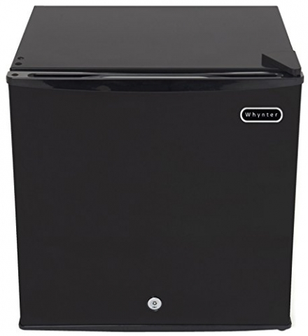 Whynter CUF-110B Energy Star 1.1 Cubic Feet Upright Freezer with Lock, Black
