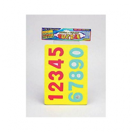 144 Number and alphabet foam puzzles