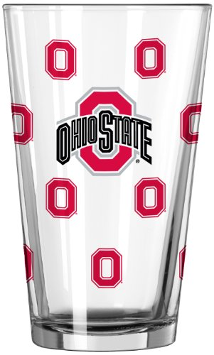 NCAA Ohio State Buckeyes Officially Licensed 16 Ounce Color Changing Pint Glass (Pack of 2)