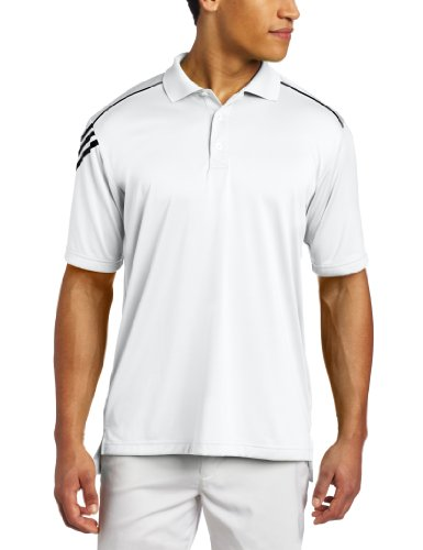 adidas Golf Men's Climacool 3-Stripes Polo Shirt