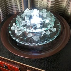 Bluworld WWMLDG Moonlight Tabletop Fountain