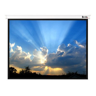 Magnifica Matte White Electric Projection Screen Viewing Area: 170″ Diagonal