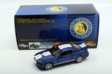 2007 Ford Shelby Mustang GT500 by The Franklin Mint in 1:24 Scale