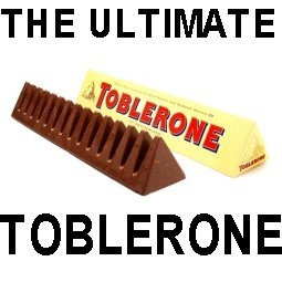 The Ultimate Toblerone Solid 4.5 Kg Bar