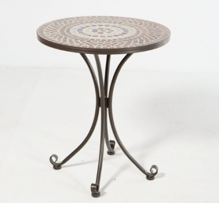 Alfresco Home Tremiti Mosaic Outdoor Bistro Table