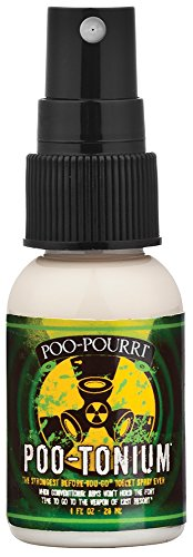 Poo-Pourri Before-You-Go Toilet Spray 1-Ounce Bottle, Poo-Tonium