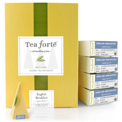 Tea Forte English Breakfast Tea – 48 piece in Event Box