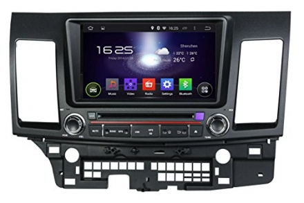 IAUTO 8 Inch Android 4.4.4 Double Din Car DVD Player GPS Navi Stereo In Dash Navigation Support Blue