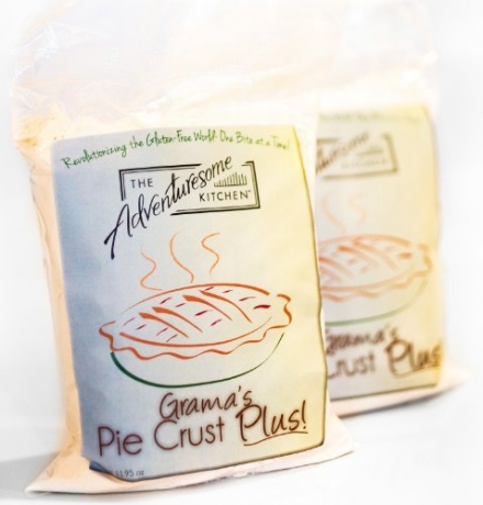 Gluten Free Pie Crust Plus Mix – Makes Gluten Free Pie Crust, Scones, Cookies and More-Additional Re