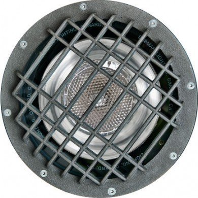 1 Light In-Ground Well Light with Grill Volts: 120V, Bulb Type: 70W HPS