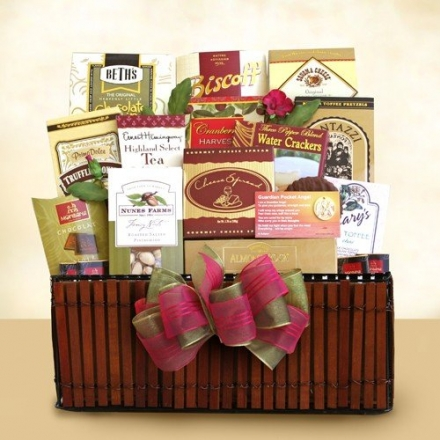 Love And Comfort: Sympathy Gift Basket