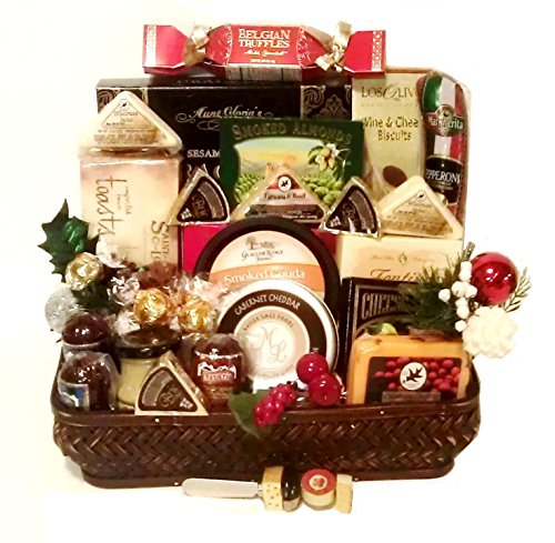 Say Cheese with Pepperoni, Sausage, Salami and More By Goldspan Gift Baskets