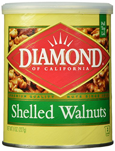 Diamond Shelled Can Walnuts, 8 Ounce (Pack of 24)