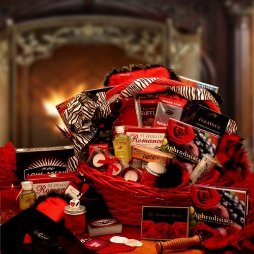 A Naughty Gift Basket for Couples