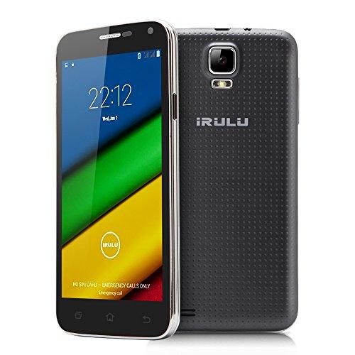 IRULU Universe 1s (U1s) Phone -5 Inch QHD Quad-core Dual SIM Card 3G Smartphone Android 4.4 OS, Fron