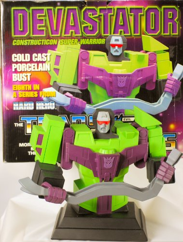 2003 – Hasbro – Hard Hero Ent – The Transformers : Evil Decepticon – Devastator – Construction Super