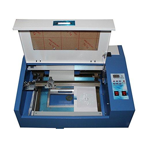 Huhushop(TM) High Precise Speed 40W USB CO2 Laser Engraver Engraving Cutting Machine