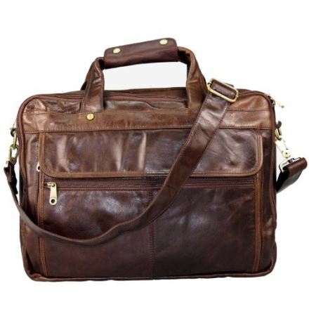 Blueblue Sky Men's Vintage Leather Laptop Computer Messenger Bags#7146c
