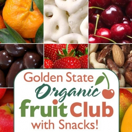 Organic Fruit and Snack Club – Select 3, 6, 9 or 12 Months (12 Month Option)